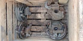 Zwrotnica prawy tył Subaru Impreza GD WRX 2001 07