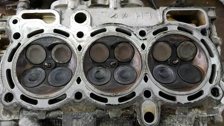 Głowica lewa kpl Subaru Legacy Outback 3.0 H6 EZ30 (6)