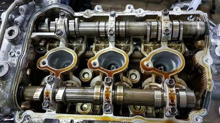 Głowica lewa kpl Subaru Legacy Outback 3.0 H6 EZ30 (3)