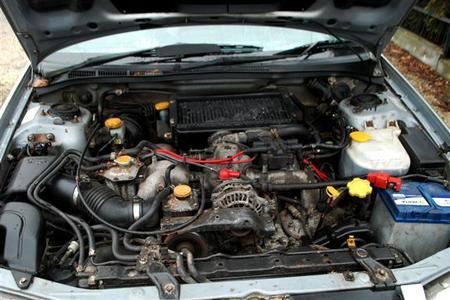 Silnik 2.0T EJ205 Subaru Impreza GT 1999 2000 W-WA (1)