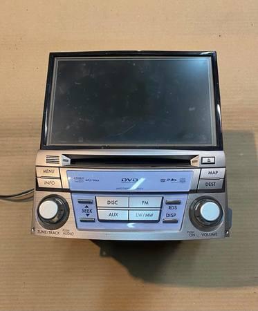 Radio DVD ORYG Subaru Legacy V 2009 2013 (2)