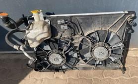 Chłodnica wentylator zestaw Subaru Tribeca B9