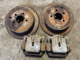 Zaciski tarcze hamulcowe tył Subaru Legacy V 286