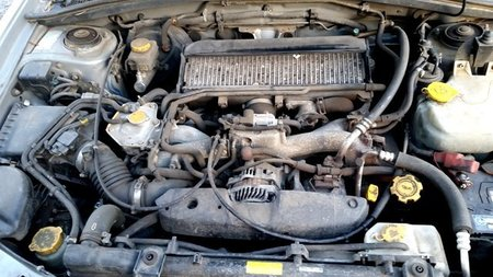 Silnik 2.0T EJ205 Subaru Forester S-Turbo XT 99 03 (1)