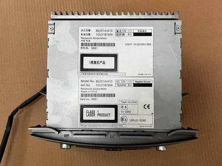 Radio CD ORYG Subaru Legacy V 2009 2013 (2)